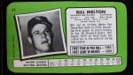 1971 Topps Super #47  Bill Melton  Back Thumbnail