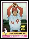 1976 Topps #407  Tom Underwood  Front Thumbnail
