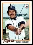 1978 Topps #342  Aurelio Rodriguez  Front Thumbnail