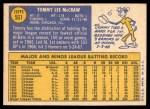 1970 Topps #561  Tom McCraw  Back Thumbnail
