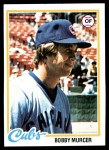 1978 Topps #590  Bobby Murcer  Front Thumbnail