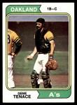 1974 Topps #79  Gene Tenace  Front Thumbnail