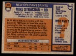 1976 Topps #353  Mike Strachan   Back Thumbnail
