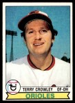 1979 Topps #91  Terry Crowley  Front Thumbnail