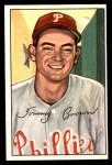 1952 Bowman #236  Tom Brown  Front Thumbnail