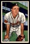 1952 Bowman #100  Sibby Sisti  Front Thumbnail