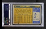 1971 Topps #50  Jerry West   Back Thumbnail