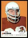 1969 Topps #87  Don Brumm  Front Thumbnail