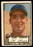 1952 Topps #313  Bobby Thomson  Front Thumbnail