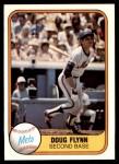 1981 Fleer #330  Doug Flynn  Front Thumbnail