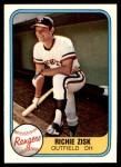 1981 Fleer #620  Richie Zisk  Front Thumbnail