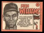 1969 Topps #349  Dick Williams  Back Thumbnail