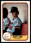 1981 Fleer #564  Geoff Zahn  Front Thumbnail