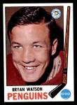 1969 Topps #112  Bryan Watson  Front Thumbnail