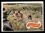1969 Topps Planet of the Apes #7   Man Vs Beast Front Thumbnail