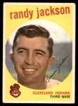 1959 Topps #394  Randy Jackson  Front Thumbnail