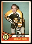 1974 O-Pee-Chee NHL #146  Dallas Smith  Front Thumbnail