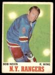 1970 O-Pee-Chee #60  Bob Nevin  Front Thumbnail
