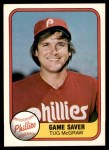 1981 Fleer #657 COR Tug McGraw  Front Thumbnail