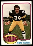 1976 Topps #405  Andy Russell  Front Thumbnail