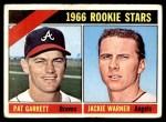 1966 Topps #553   -  Pat Garrett / Jackie Warner Rookies Front Thumbnail