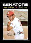 1971 Topps #241  Dave Nelson  Front Thumbnail
