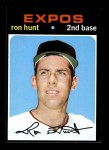 1971 Topps #578  Ron Hunt  Front Thumbnail