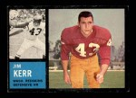 1962 Topps #173  Jim Kerr  Front Thumbnail