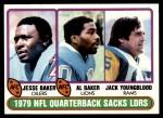 1980 Topps #333   Sacks Leaders Front Thumbnail