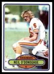 1980 Topps #346  Neil O'Donoghue  Front Thumbnail