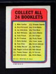 1970 Topps Booklets #19  Cleon Jones  Back Thumbnail