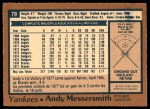 1978 O-Pee-Chee #79  Andy Messersmith   Back Thumbnail