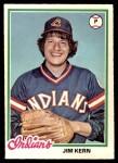 1978 O-Pee-Chee #165  Jim Kern  Front Thumbnail