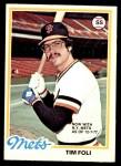 1978 O-Pee-Chee #169  Tim Foli   Front Thumbnail