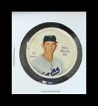1962 Salada Coins #43  Billy Martin  Front Thumbnail