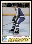 1977 O-Pee-Chee #365  Don Ashby  Front Thumbnail