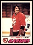 1977 O-Pee-Chee #109  Gilles Meloche  Front Thumbnail