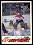 1977 O-Pee-Chee #305  Ron Low  Front Thumbnail