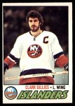 1977 O-Pee-Chee #250  Clark Gillies  Front Thumbnail