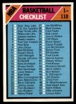 1975 Topps #61   Checklist Front Thumbnail