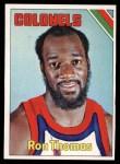 1975 Topps #277  Ron Thomas  Front Thumbnail