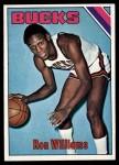 1975 Topps #198  Ron Williams  Front Thumbnail