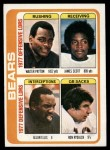 1978 Topps #504   Bears Leaders Checklist Front Thumbnail