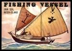 1955 Topps Rails & Sails #138   Fishing Vessel Front Thumbnail