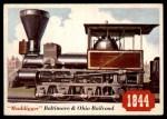 1955 Topps Rails & Sails #44   Muddigger Front Thumbnail