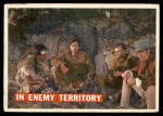 1956 Topps Davy Crockett #49   In Enemy Territory  Front Thumbnail