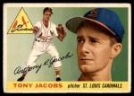 1955 Topps #183  Tony Jacobs  Front Thumbnail