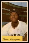 1954 Bowman #217 ALL Hank Thompson  Front Thumbnail