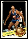 1979 Topps #38  John Long  Front Thumbnail