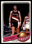1979 Topps #102  Tom Owens  Front Thumbnail